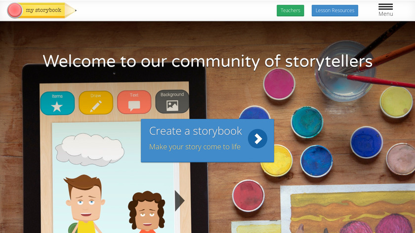 My Storybook Landing Page