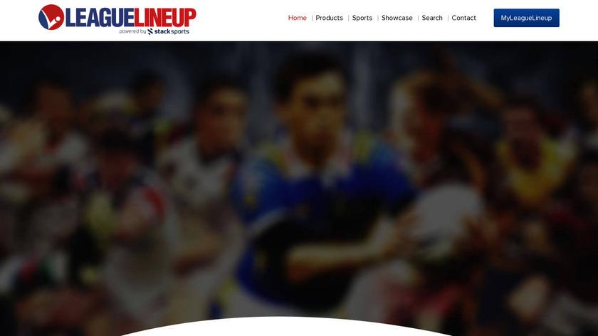LeagueLineup Landing Page