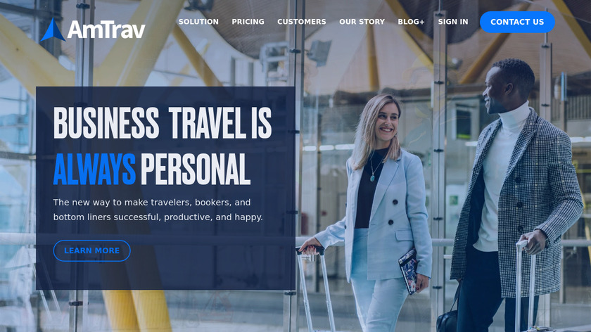 AmTrav Landing Page