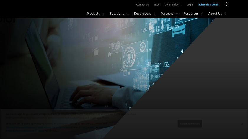 Veracode Landing Page
