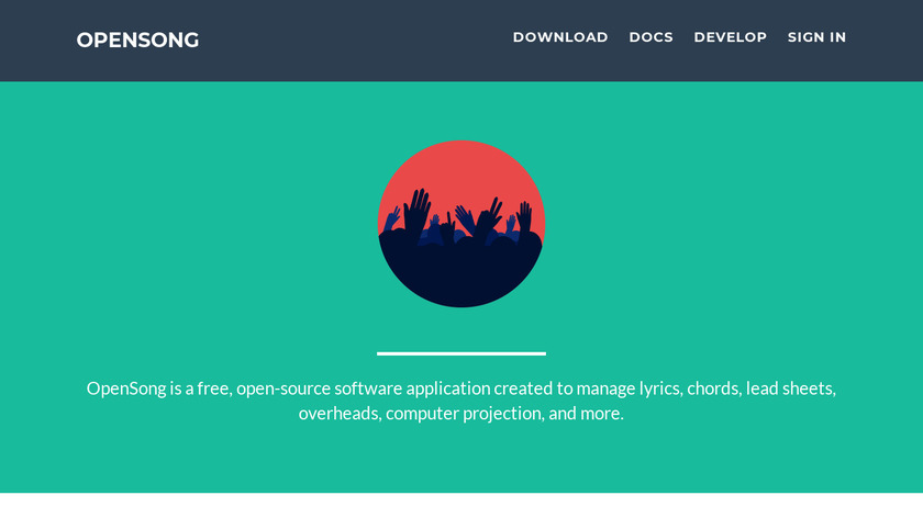 OpenSong Landing Page