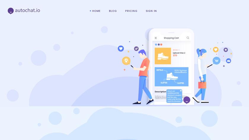 Autochat.io Landing Page