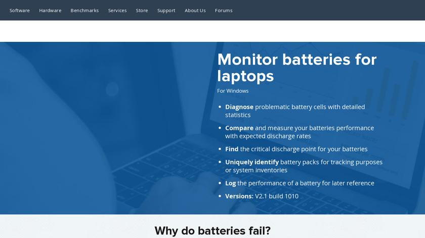BatteryMon Landing Page
