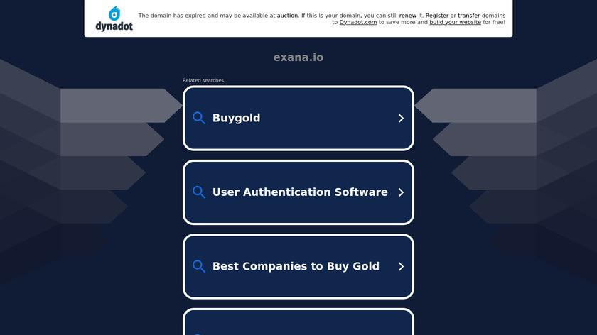exana Landing Page