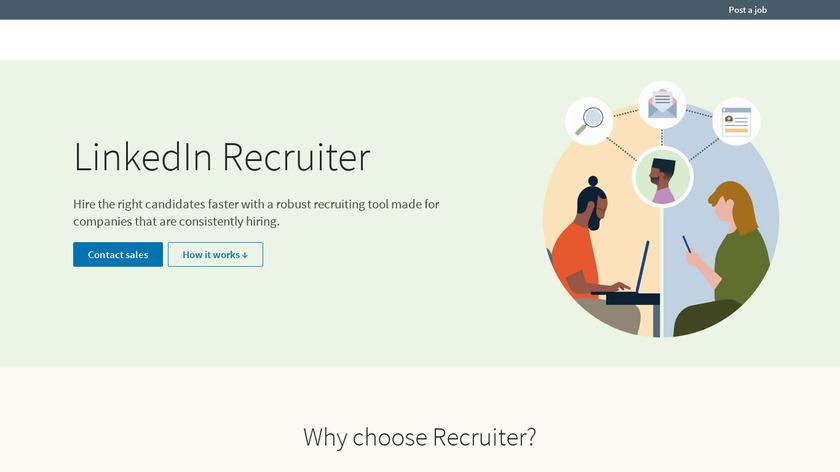 LinkedIn Recruiter Landing Page