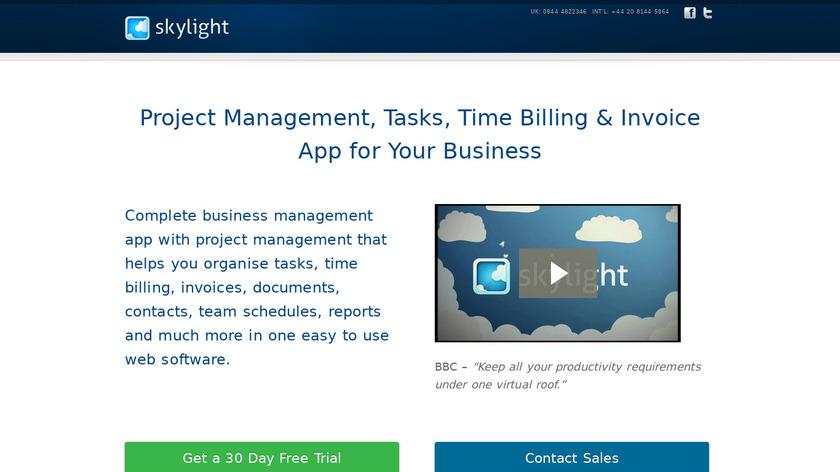 Skylightit.com Landing Page