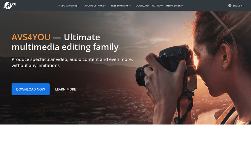 AVS Cover Editor Landing Page