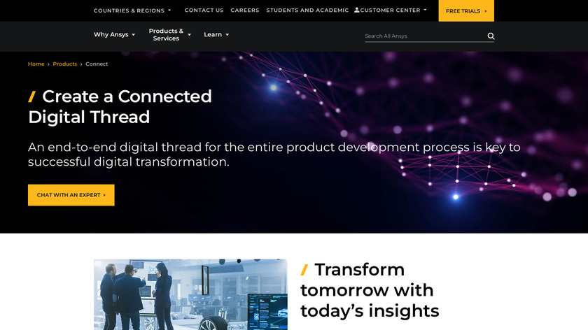 ANSYS Workbench Landing Page