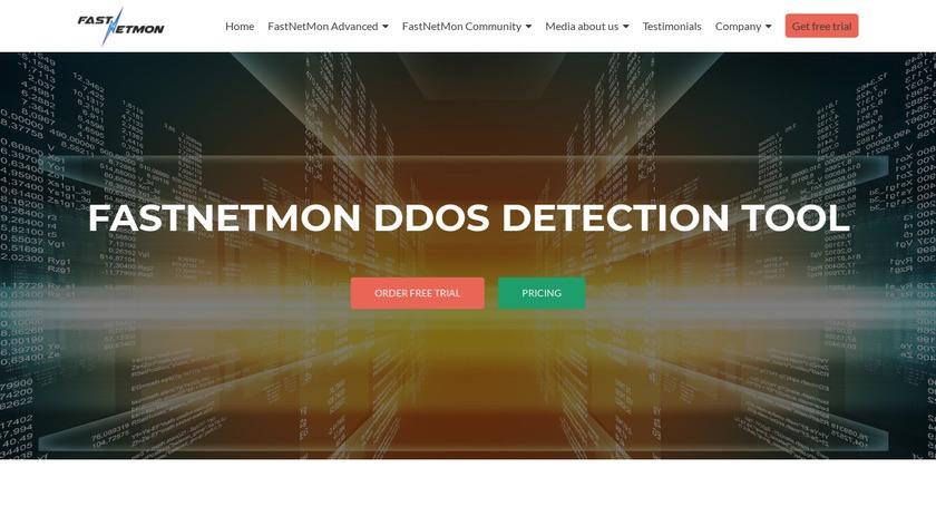 FastNetMon Landing Page