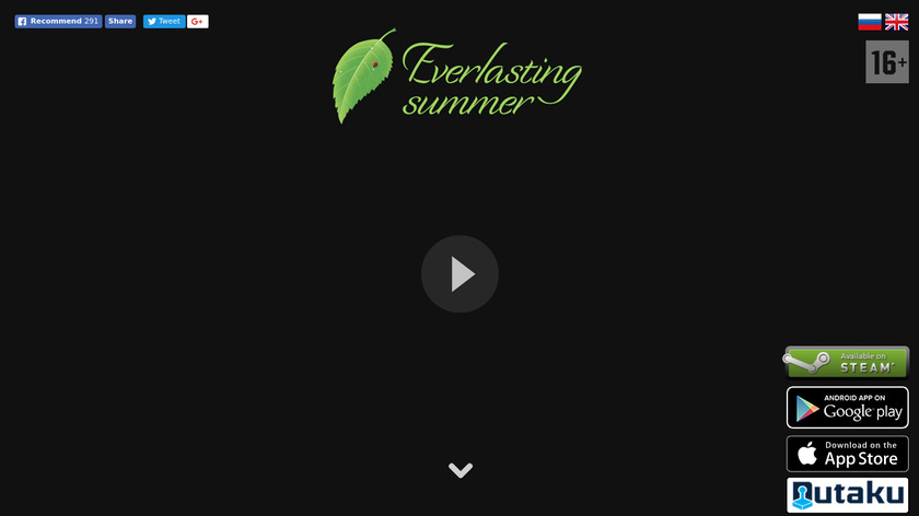 Everlasting Summer Landing Page