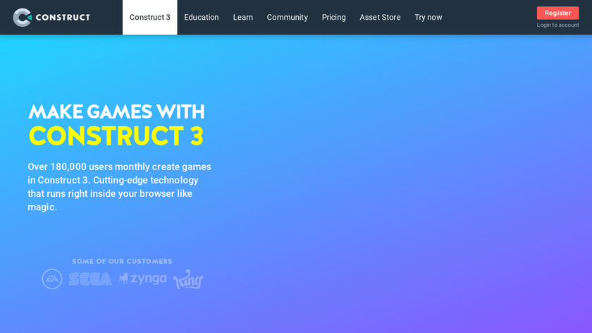 Construct Classic Landing Page