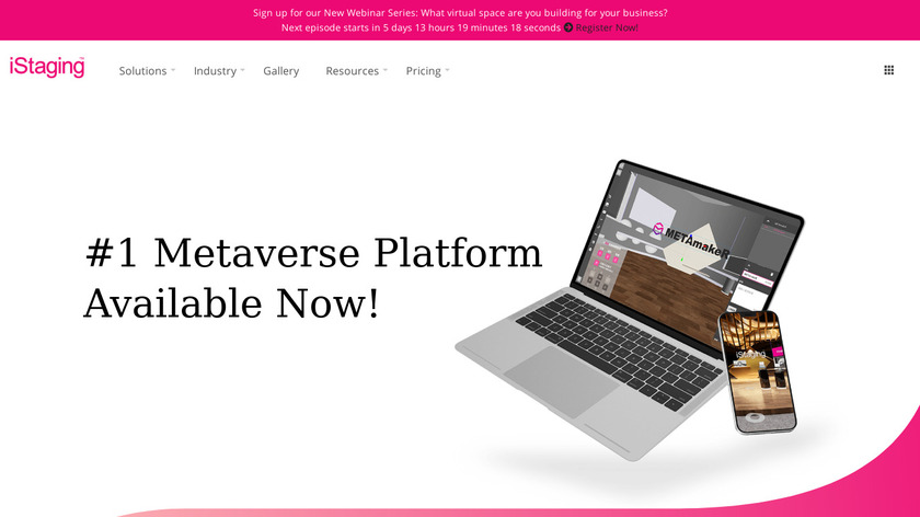 iStaging Landing Page