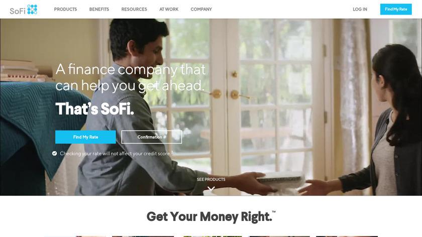 SoFi Landing Page