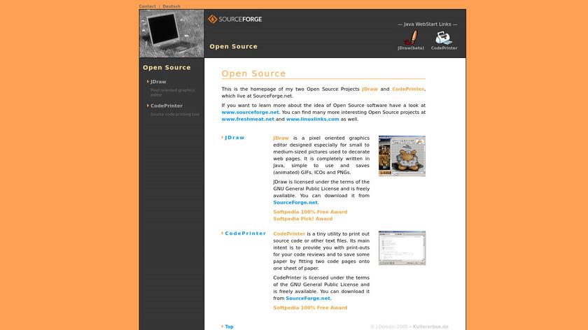 JDraw Landing Page