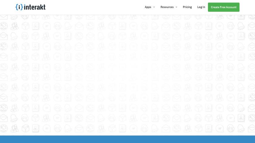 Interakt Landing Page