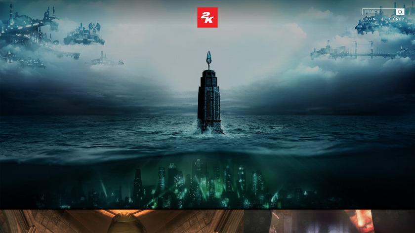 BioShock Landing Page
