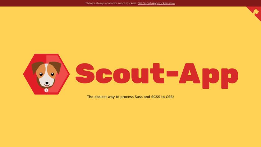 Scout-App Landing Page