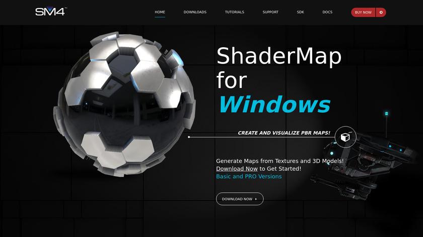 ShaderMap Landing Page