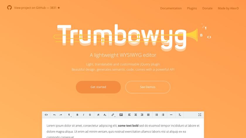 Trumbowyg Landing Page
