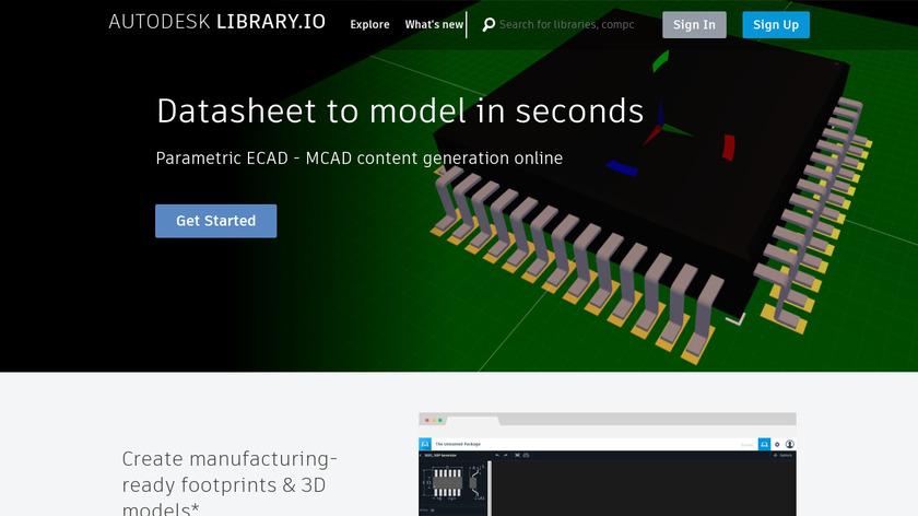 Autodesk Circuits Landing Page