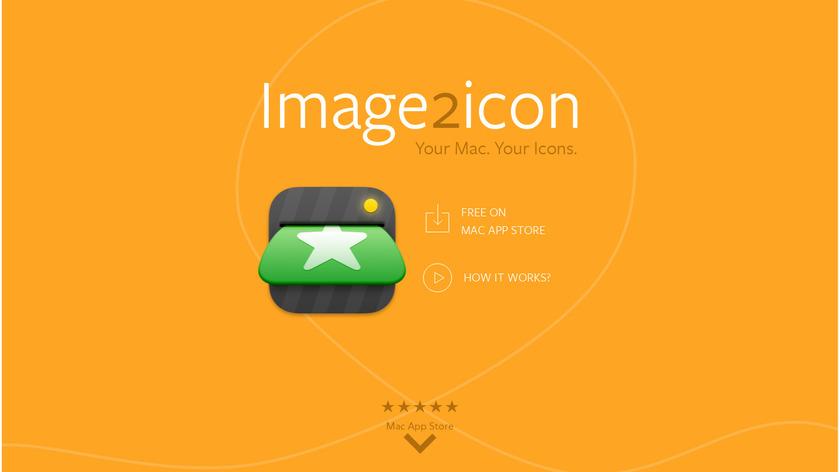 Img2icns Landing Page