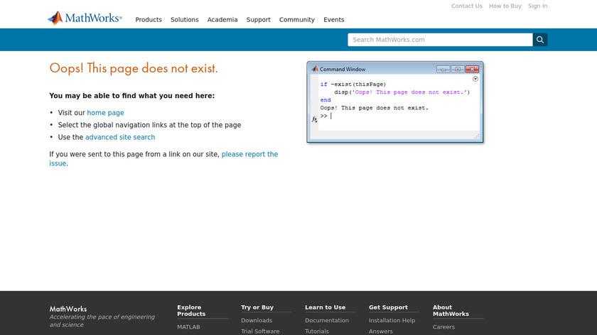 mathworks.com Simulink Landing Page