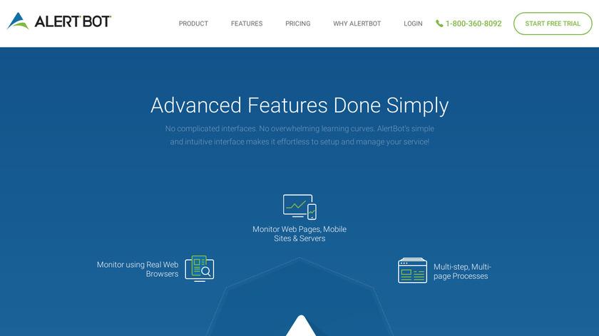 AlertBot Landing Page