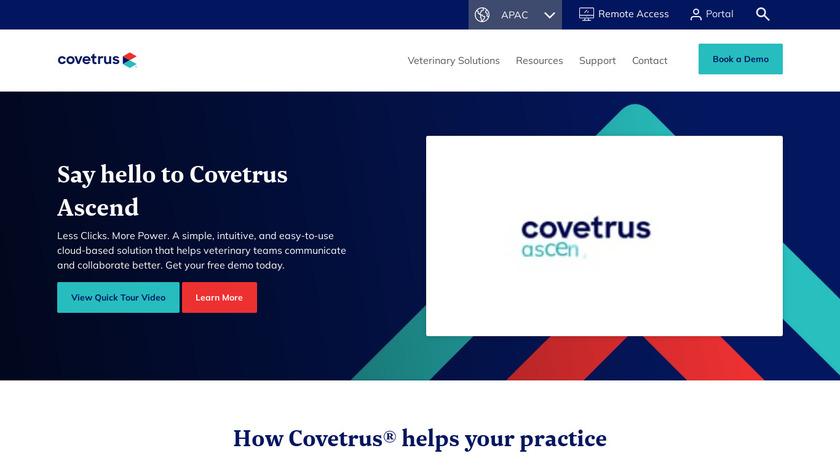 eVetPractice Landing Page