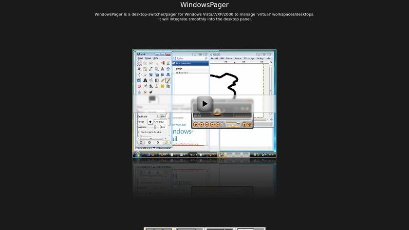 WindowsPager Landing Page