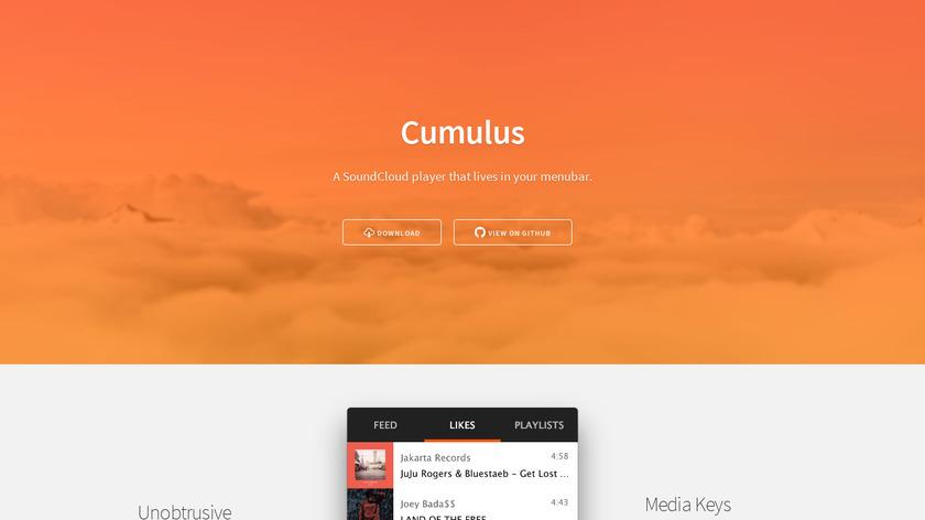 Cumulus Landing Page