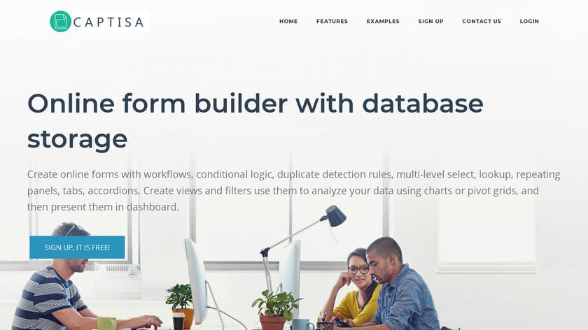 Captisa Landing Page