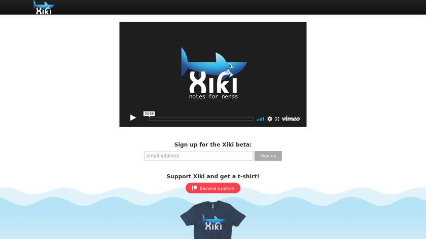 Xiki Landing Page