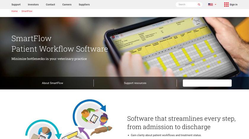 Smart Flow Landing Page