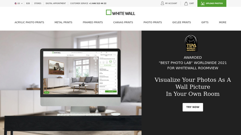 White Wall Landing Page