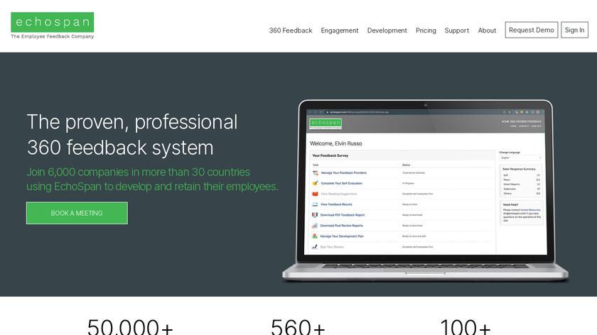 EchoSpan Landing Page