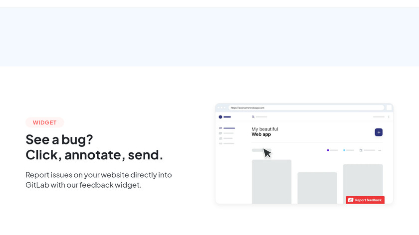 Marker.io for GitLab Landing Page