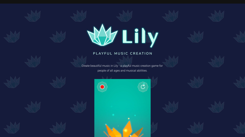 Lily Landing Page