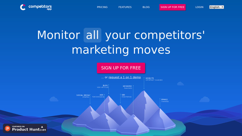Competitive Business Landing Page