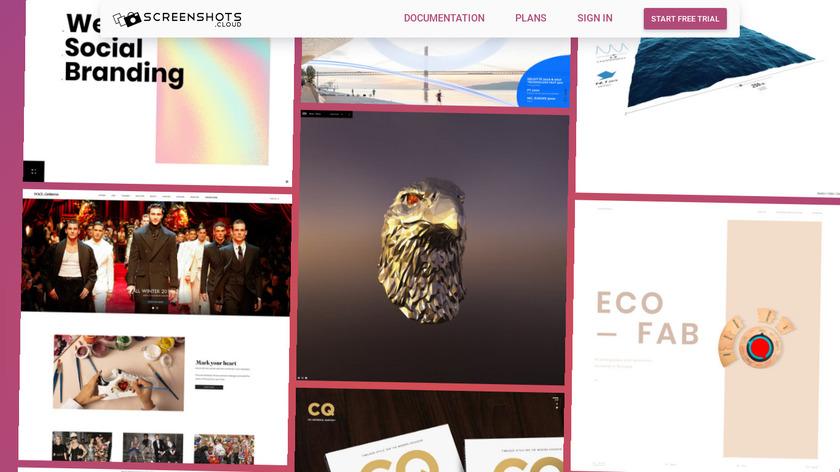 ScreenshotsCloud Landing Page