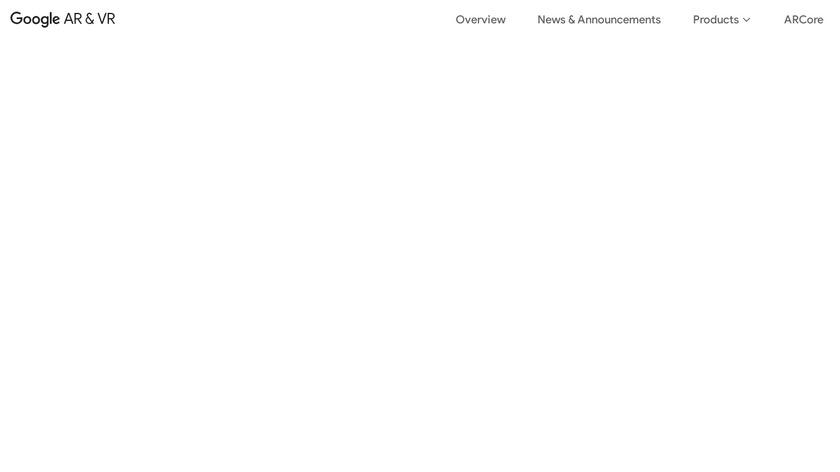 Google Earth VR Landing Page