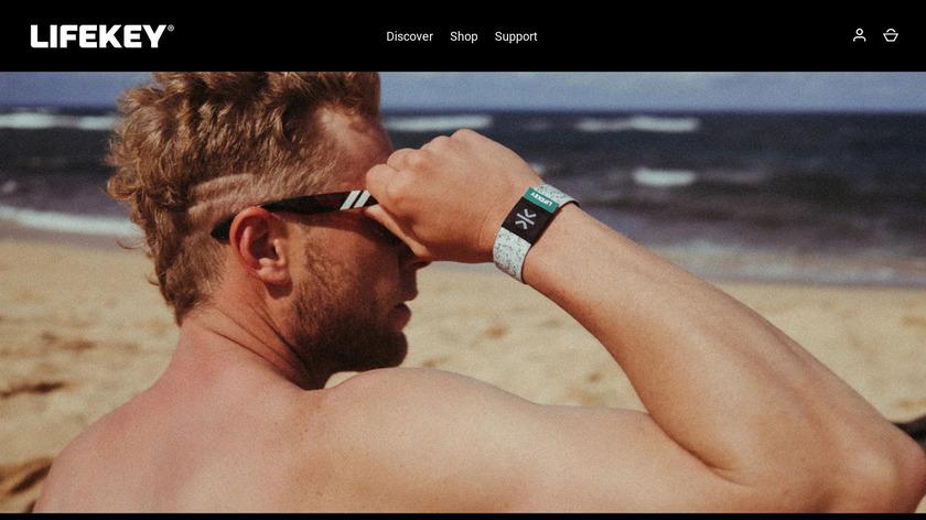 Lifekey Landing Page