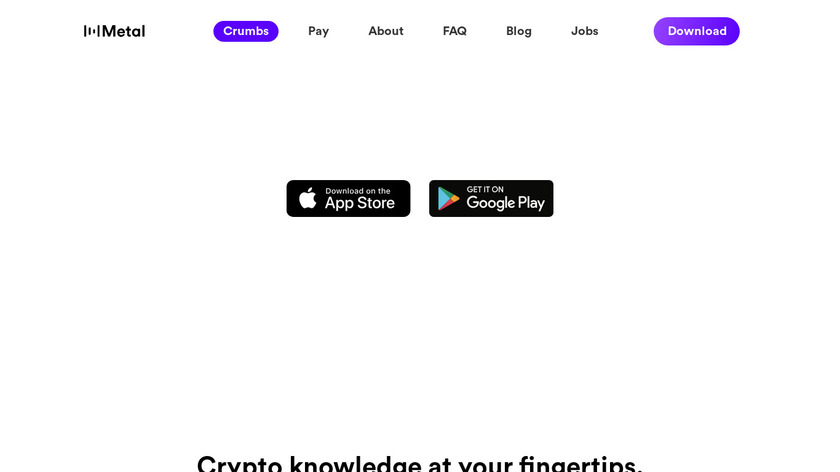 Crumbs Landing Page