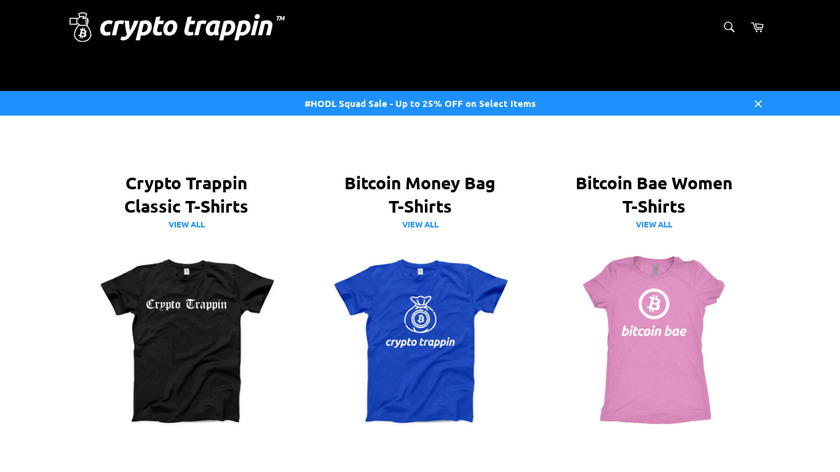 Crypto Trappin™ Landing Page