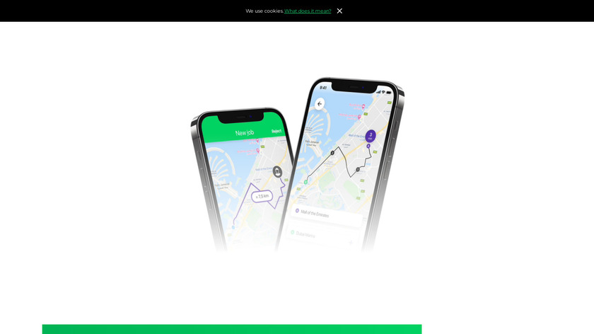 TaxiStartup Landing Page