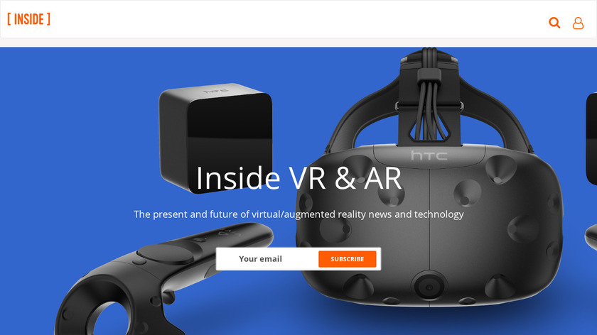 Inside VR & AR Landing Page