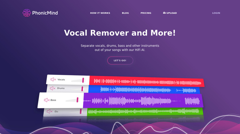 PhonicMind Landing Page