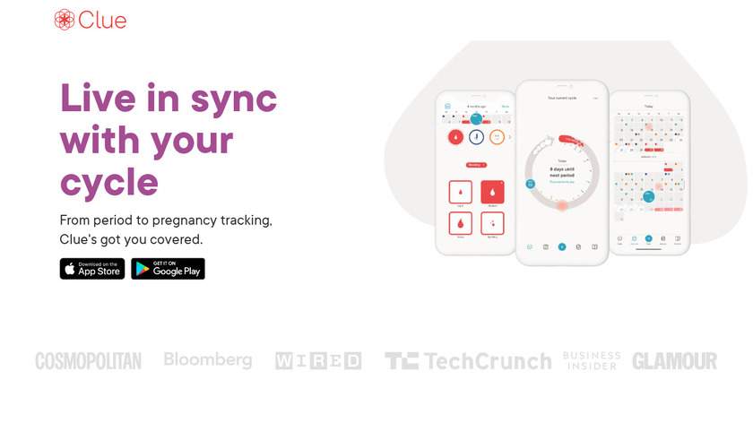 Clue Landing Page