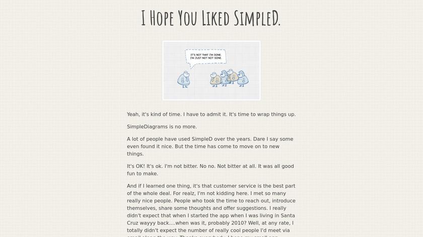 SimpleDiagrams Landing Page