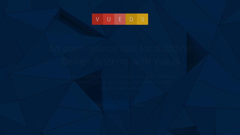 Vue Design System Landing Page