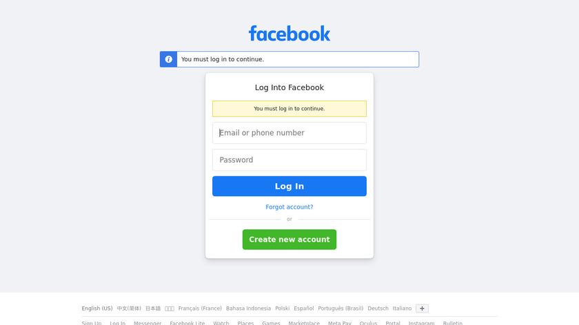 Facebook 360 Photos Landing Page